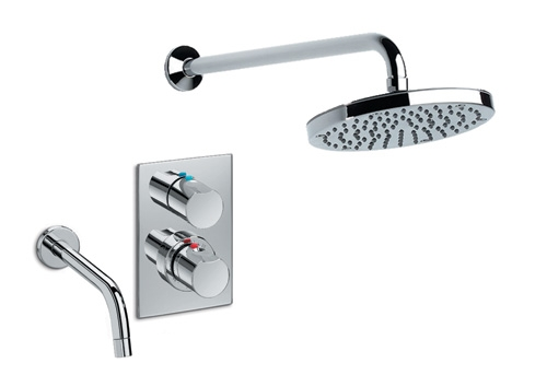 Wall Mounted Taps With Shower Poxtel  Bath Taps Wall Mounted Poxtel com. Thermostatic Bath Tap Shower